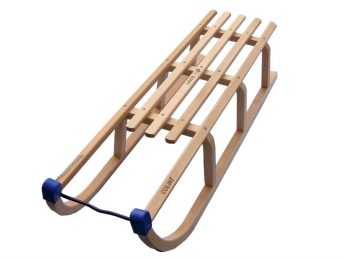 Wooden sledges